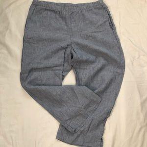 J Jill Love Linen Women's Pants Sz M